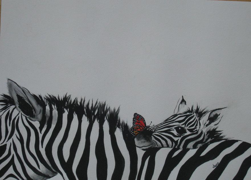 Zebras and Friend